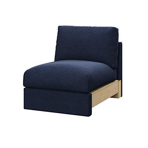 Soferia Funda de Repuesto para IKEA VIMLE sección 1 Asiento, Tela Classic Purple, Púrpura