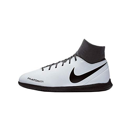 Nike Unisex Phantom Vsn Club Df Ic Fitnessschuhe, Mehrfarbig (Pure Platinum/Black/Lt Crimson/Dark Grey 060), 44 EU