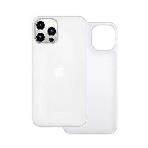 【CASEFINITE】Frost Air フロストエア iPhone 12 / Pro 対応 薄型 ケース アイスホワイト FA1261W