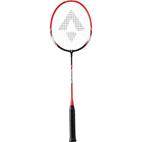 TECNOPRO Herren Elite 20 Badmintonschläger, Black/RED/White, 3 1/2
