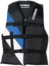 Yamaha D16-LV000-B4 WR Universal Life Jacket Vest, Blue/White/Black