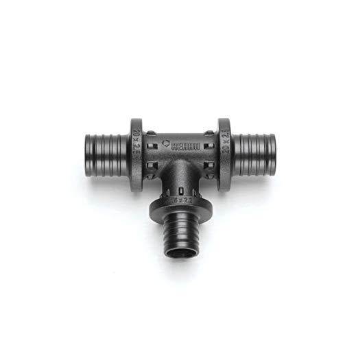 Rehau–Stück T Rautitan PX Durchmesser 16mm schwarz