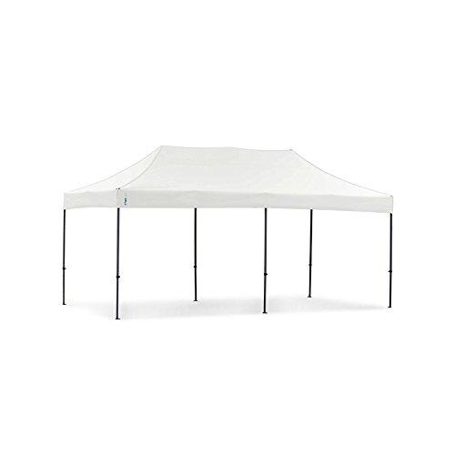 Tentastic Pro Faltpavillon 32 mm Edelstahl - 3 m x 6 m [weiß]