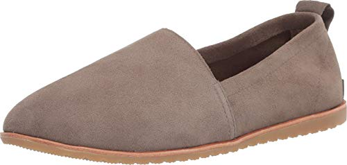 Sorel - Women's Ella Slip-On, Leather or Suede Shoe, Sage, 7.5 M US