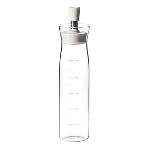 DQM Olijfolie Dispenser Fles, Olijfolie Dispenser Olie Fles Glas, ook cruets voor azijn, essentiële olie, koken wijn, chili, grote drizzling direct op pasta's, salades, soepen,