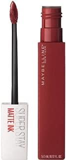 Maybelline New York SuperStay Matte Ink Liquid Lipstick, Voyager, 0.17 Fl Oz (Pack of 2)