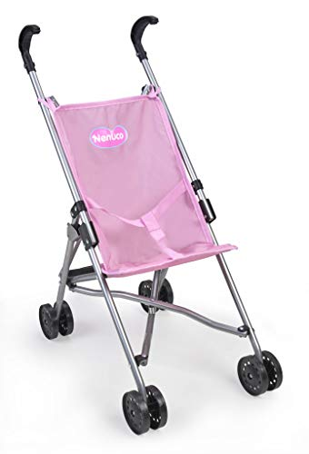 Nenuco - Sillita de metal plagable de paseo para muñecos bebé (Famosa 700015022) 🔥