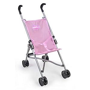 Nenuco – Sillita de metal plagable de paseo para muñecos bebé (Famosa 700015022)