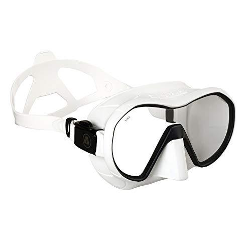 Apeks VX1 White Pure Clear Lens Scuba Diving Mask