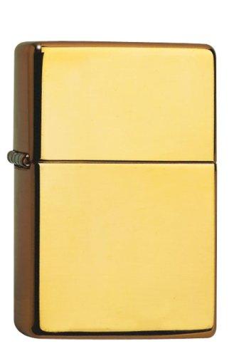 Original Zippo Feuerzeug 18 Karat Gold