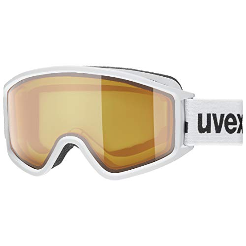 uvex Unisex– Erwachsene, g.gl 3000 LGL Skibrille, white mat, one size