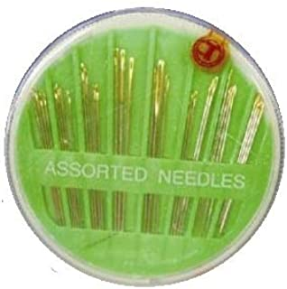 30 agujas para coser a mano surtidas. Ideal para costura. -
