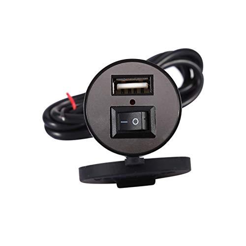 Cargador USB para motocicleta, nuevo cargador de manillar de instalaciones múltiples de alta calidad, trabajador de mantenimiento fácil de usar para automóvil