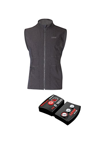 Lenz Damen Heizweste Lithium Pack RCB 1800 Set of Heat Vest 1.0, Schwarz, medium / 38