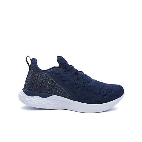 ATHIX Zapatilla Deportiva para Hombre - Allure Flexy - Calzado Transpirable, Ligero y cómodo de Malla para Correr Caminar Trabajar Actividades al Aire Libre - Suela Antideslizante