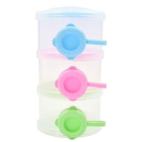 Melkpoedercontainer - dispenser en containers - scheidbaar - voedsel - origineel idee voor een verjaardagscadeau voor kerstmis