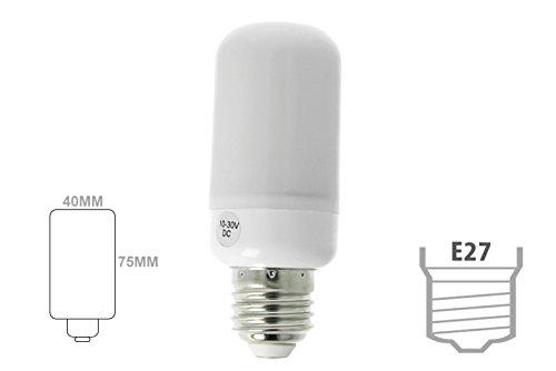 LED-lamp E27 DC 24 V AC/DC 12 V 8 W neutraal wit vorm maïs maïs maïs maïs maïs maïs