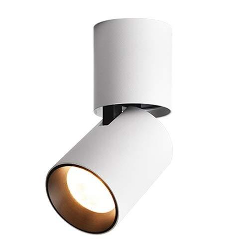 GYZLZZB Superficie montata PORTATO Faretto Plafoniera Lampada a soffitto a soffitto a soffitto a soffitto Nordico PANNOCCHIA Downlight Camera da letto corridoio corridoio soggiorno portico sfondo lava