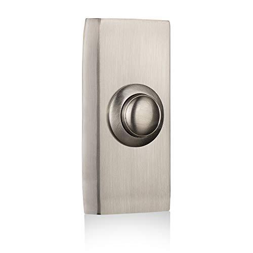 Byron 2204BN Verdrahteter Universal-Klingeltaster in gebürsteter nickel-Ausführung