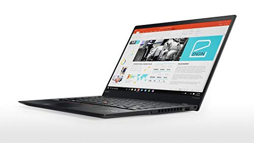 Lenovo ThinkPad x1 Carbon Gen5 i5-6300U, 8GB RAM, 256GB SSD, 14in FHD IPS, Win10 (Renewed)