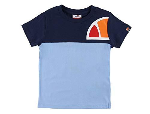 Ellesse- Camiseta NIÑO ADELO tee- S3E08585 Navy-Camiseta Manga Corta NIÑOS