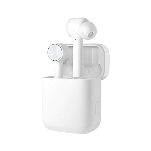Xiaomi Mi True Wireless Earphones Lite, Cuffie Wireless Senza Cavi, Connessione Bluetooth 5.0, Controllo Double Tap, Modalità Single Ear, Audio Codec SBC/AAC, Compatibile con iOS e Android, Bianco