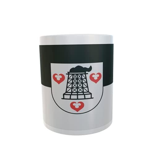 U24 Tasse Kaffeebecher Mug Cup Flagge Bitterfeld-Wolfen OT Greppin