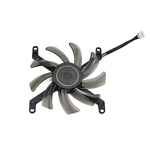Jinyouqin T129215SU 0.50A GTX / 1080TI Ventilateur de Refroidisseur Remplacer pour PNY Manli pour GEFORCE GTX 1080 TI 11GB XLR8 Jeux Ventilateur de Carte Graphique (Blade Color : 1PCS)