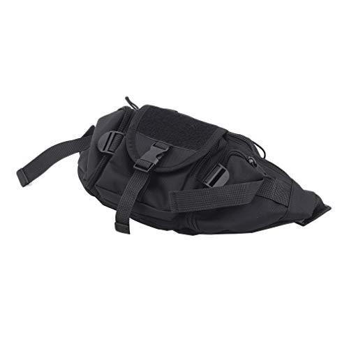 Rinclhu - Bolsa térmica con correa para el hombro, portátil, resistente, de nailon, para senderismo, camping, viajes, picnic, Black (Negro) - Rinclhu