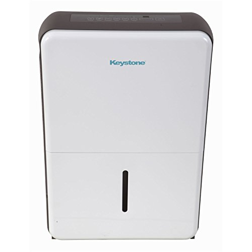Save %8 Now! Keystone 70-Pint Dehumidifier in White/Gray