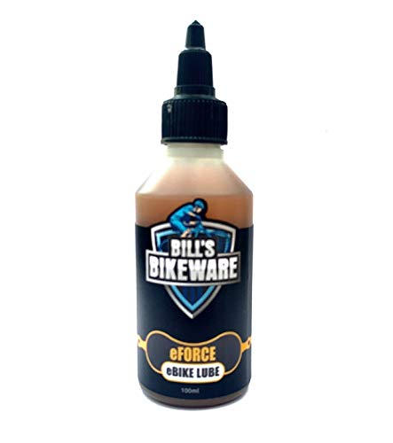 e-FORCE e-bike specific chain lubricant formulated to cope with the harshest use