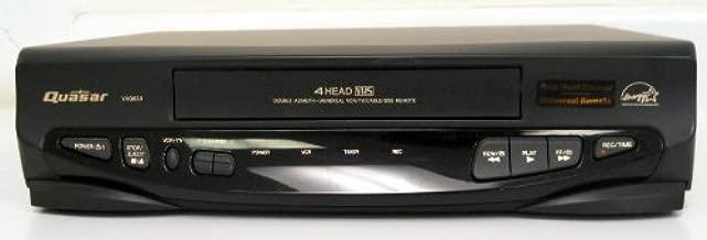 Quasar VHQ830 Video Cassette Recorder Player VCR w/ 4 Head VHS