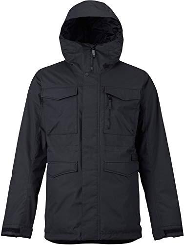 Burton Covert - Giacca da snowboard da uomo, Uomo, giacche da snowboard, 130651, True Black 1, M