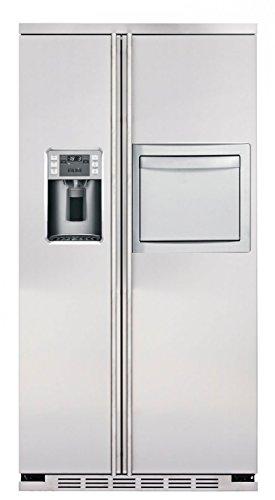 General Electric RCE 24 KHF 60 - Amerikanischer Kühlschrank / Kühlschrank side by side / Kühlschrank aus Edelstahl - Freistehender Kühlschrank - Energieklasse A+ - 2 Jahre Garantie