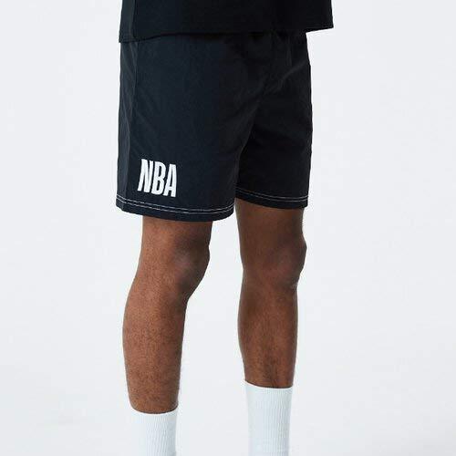 A NEW ERA NBA Short Nbagen – Pantaloncini da Uomo, Uomo, Pantalone Corto, 12485667, Nero, XXL