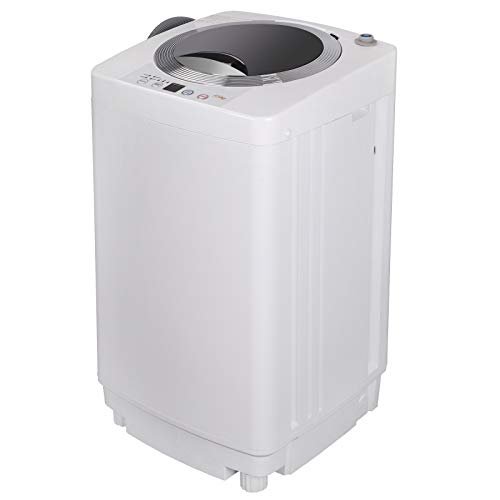 ZENSTYLE Portable Compact Design Multifunctional Laundry Washer/Spinner Fully Automatic 8...