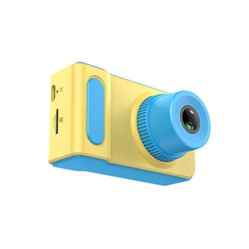 HXZ Normale Digitalkamera für Kinder, bruchsichere SLR-Kamera mit Mini-8G-Speicherkarte, USB, Bequeme Sicherheit, Anti-Drop-Anti-Lost,Blue