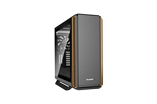 be quiet! Silent Base 801 ATX PC Midi Gehäuse mit Seitenfenster Orange BGW28
