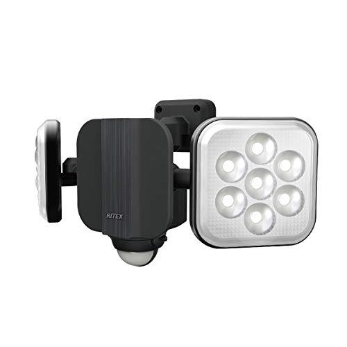 ライテックス 11W×2灯 フリーアーム式 LEDセンサーライト LED-AC2022
