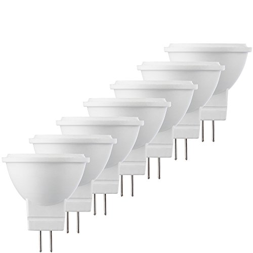 Müller-Licht 400284_Set A+, 7-er LED Reflektorlampe ersetzt 21 W, Plastik, 3 watts, GU4, weiß, 3.5 x 3.5 x 4 cm