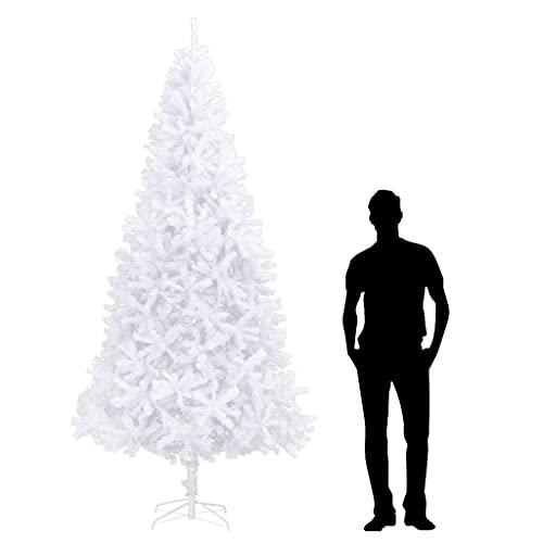 LIUBIAONET Árbol de Navidad Artificial Blanco 300 cm