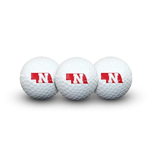 Buy Discount Nebraska Huskers Golf Ball Pack of 3