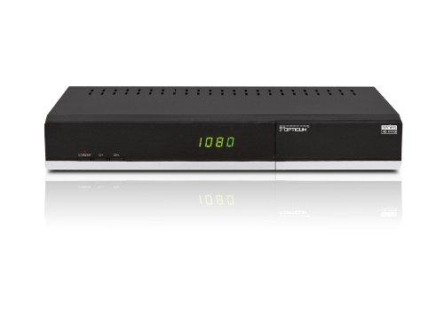 Opticum HD XTS 110p HDTV Combo Receiver (DVB-S/T Tuner, SCART, CI, HDMI, USB) schwarz