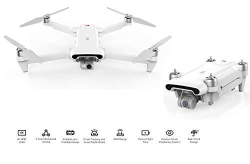 Avions Drone avec Camera pour Xiaomi Original Authentique Xiaomi FIMI X8 Se Drone 8KM FPV 3-Axis Gimbal 4K Caméra GPS Quadcopter Internationale Version