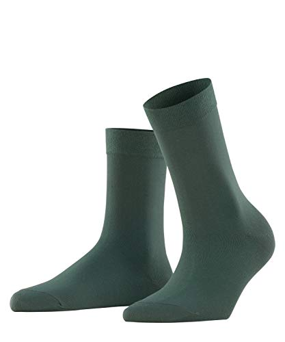 FALKE Damen Cotton Touch W SO Socken, Grün (Hunter Green 7441), 39-42
