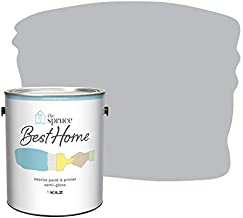 The Spruce Best Home by KILZ 15126501 Interior Semi-Gloss Paint & Primer in One, 1 Gallon, SPR-30 Gravity Gray
