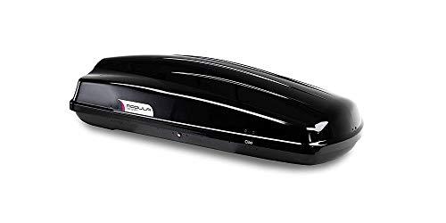 CIAO 340 Dachbox MODULA schwarz - 140x80x44cm - 340Liter original # NEU