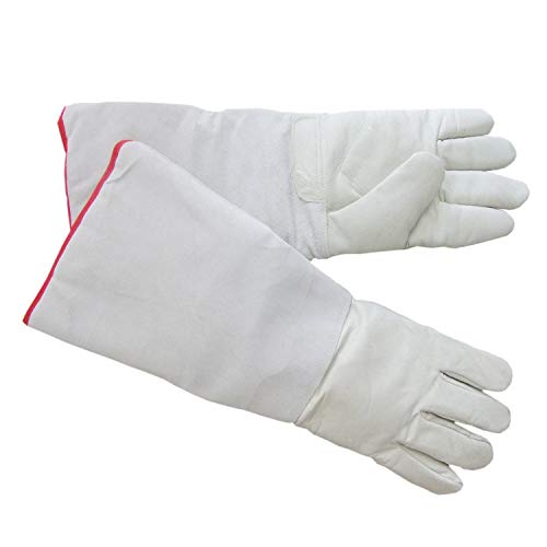 HFS (R) Cryogenic Gloves LN2 Protective Gloves Liquid Nitrogen Low Tempt (17.8'')