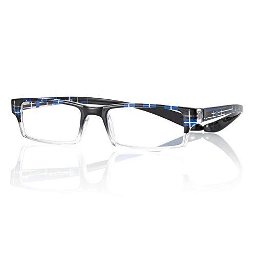 Occhiali da Vista Premontati 69439 con Potere +3.50 di colore Blu e Neri