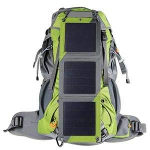 XTPower Xplorer Globetrotter 42 | Ultra Durable Hiking Solar Backpack Lime Green with Removable 10...